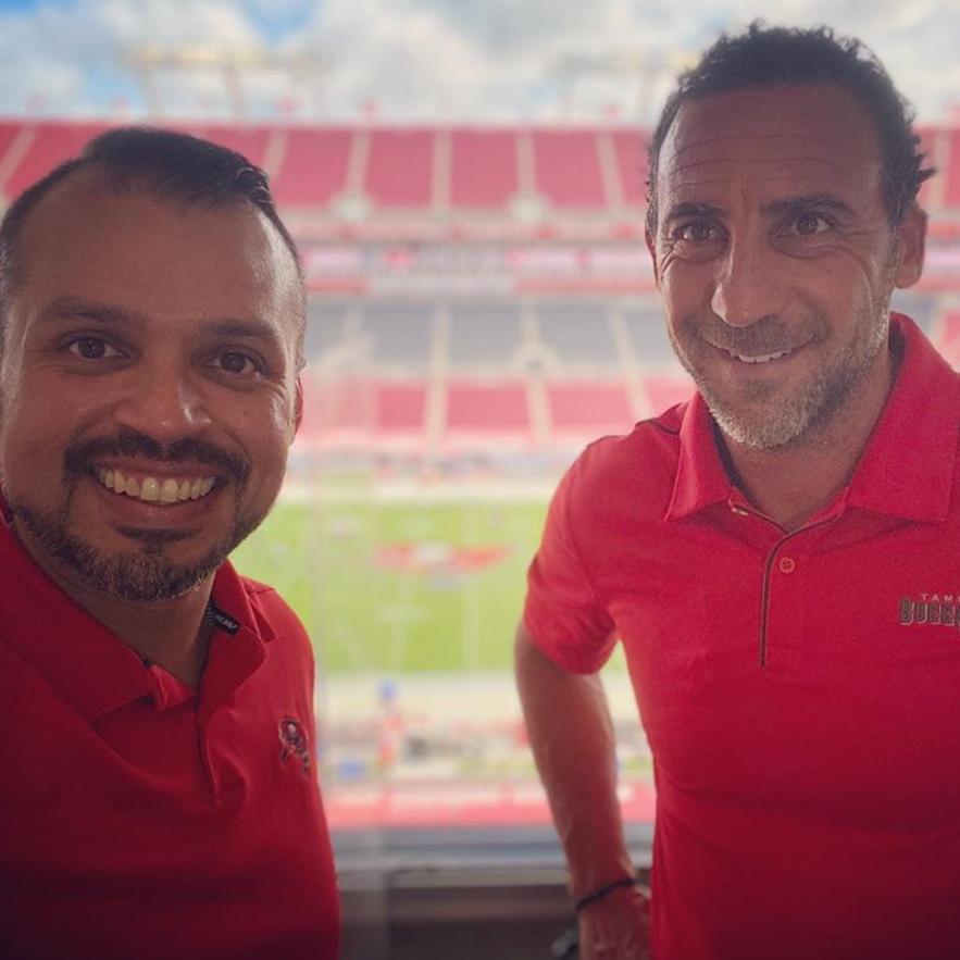 Carlos Bohorquez y Martín Gramática