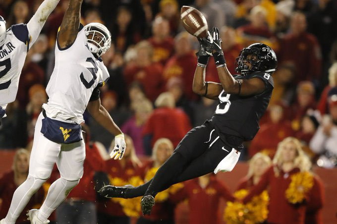 • Iowa State S Lawrence White IV